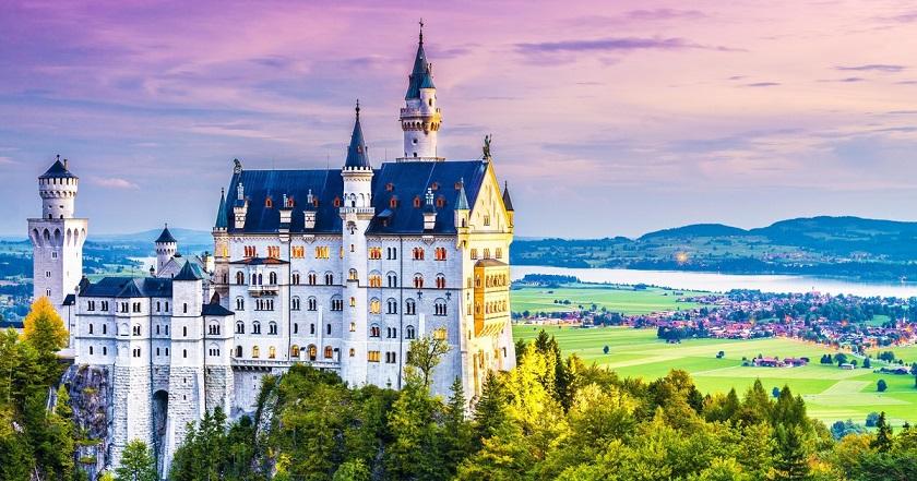 Castelli e parchi in Germania